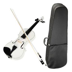 4/4 Violine Set neu mit Geigenharz Bogen Koffer