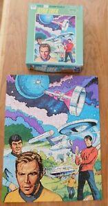 Vintage 1978 Star Trek Jigsaw Puzzle
