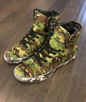 Supra X Rothco Skytop Can't See Me Skate Skateboard Shoes Camo Camouflage New 10