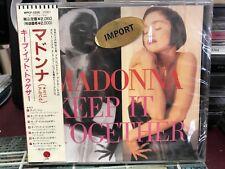 MADONNA Keep It Together Cherish JAPAN 7-track CD WPCP-3200 w/OBI 1990