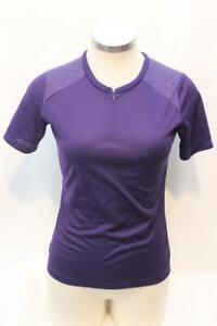New Giro Women's Venture Sport Jersey Cycling Bike Small Purple Short Sleeve