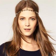 Headband Jewelry Rhinestone Forehead Hair Band Bohemian Metal Head Chain
