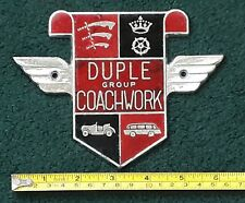 Duple Badge. Large Duple Coachworks Bus or Coach Badge. Bus Badge - Coach Badge