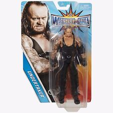 The Undertaker Wwe Wrestlemania Action Figure by Mattel Nib