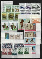 TURKEY 1960s COLLECTION OF 240+ ALL MINT NEVER HINGED MANY SETS IN PAIRS & SINGL