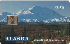 TK 12 Telefonkarte/Phonecard Alaska $3.50 Autumn At Mount McKinley Aulf. 3000