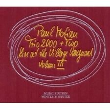 "PAUL MOTIAN TRIO 2000+TWO ""LIVE AT THE VILLAGE..""CD NEW+"