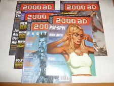 2000 AD Comic - 5 PROG JOB LOT - Progs 1053 - 1057 Inc - 1997 UK Paper Comic
