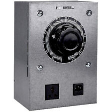 Speed Control Fan Controller Metal Power Control Dimmer Variable Hydroponics