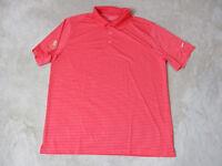 Nike Golf Tour Performance Polo Shirt Adult Extra Large Broken Sound Dri Fit Men