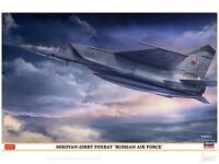 1/48 Russian Air Force Mikoyan-25RBT Foxbat Limited Edition kit by Hasegawa
