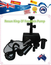 Resun King 3F 2400L/hr Fountain and Waterfall Pond Water Pump 35W Only