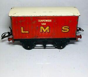 Hornby LMS Gunpowder Van O gauge