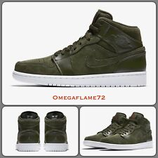 Nike Air Jordan 1 Mid Sequoia, orange, 554724-302, Sz UK 11 EU 46 US 12