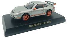 Kyosho 1/64 Porsche Collection 3 Porsche 911 GT3 RS 997 Orange Rims