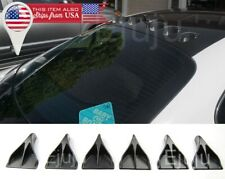 6x  VGs Vortex Generator Diffuser For BMW Windshield Roof Spoiler Bumper Trunk