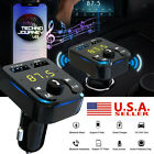 Bluetooth Car Wireless FM Transmitter 2 USB Charger Adapter Stereo MP3 Player US