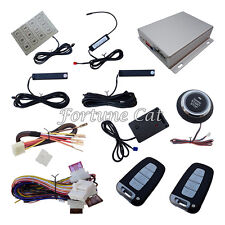 Car Smart Key PKE Alarm System Passive Keyless Go & Auto Engine Ignition