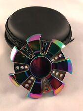 Special Gear Rainbow Fidget EDC Hand Spinner Torqbar ADHD Autism Finger Toy T6