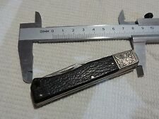 Vintage USSR Soviet Russian Combined Camping Pocket Folding Knife tourist 7651
