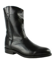 New Laredo Mens Work Roper Black Cowboy, Western Boots Size 10.5 Extra Wide