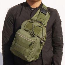 Men Military Sling Bag Tactical Backpack Outdoor Messenger Chest Bag Travel Pack