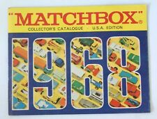 Vintage 1968 Matchbox Lesney Collector's Toy Dealer Catalog Booklet