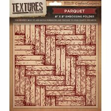 PARQUET-Crafter's Companion composizioni 8 * 8 Embossing FOLDER-ef8-parq