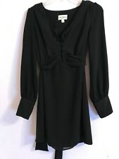 Alice Temperley for Target BLACK DRESS Size XS Fully lined Long Sleeves