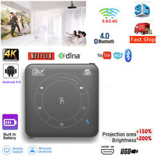 Mini Android 3D HD 1080P Projector Wifi Wireless Smart Home Theater HDMI USB SD