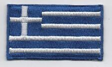 Embroidered GREECE Flag Iron on Sew on Patch Badge HIGH QUALITY APPLIQUE