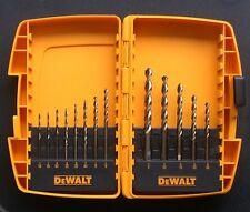 NEW DEWALT DW1953 13pc GOLD OXIDE DRILL BIT SET GREAT GIFT IDEA