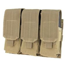 Condor MA58 TAN MOLLE PALS Triple .223 5.56 Mag Clip Magazine Pouch Holster