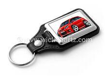 WickedKarz Cartoon Car Vauxhall Zafira Model B VXR/SRi in Red Key Ring