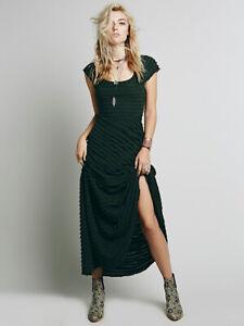 New Free People X Ruffle Row Maxi Dress Size XS MSRP: $168