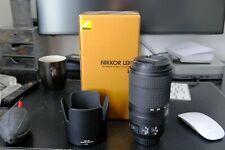 Nikon NIKKOR 70-300 AF-P F4.5-5.6E ED VR Ottime Condizioni