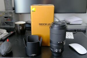 Nikon NIKKOR AF-P 70-300 F4.5-5.6E ED VR Excellent Condition