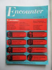 Encounter February 1968 vol 30 no. 2 O Jerusalem / June War / Friends & Enemies