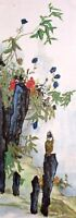 Bird&Flower-HANDPAINTED ORIENTAL ASIAN ART CHINESE FAMOUS WATERCOLOR PAINTING