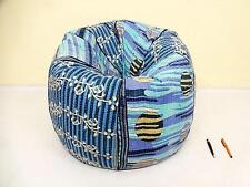 kantha bean bag pouf ,kids bean bag , handicraft Ottoman Slipcover and insert