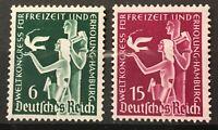 Germany 1936 3rd Reich Mi# 622-623 MNH International Recreational Congress