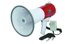 50 Watt Megaphone Safety Siren Emergencies Party Loud Voice Speak Crowd Mic Mega