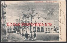GIBRALTAR,  The Jew's Market, used 1903,  Postcard by Artistic Postcard Co