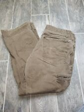 KUHL CRAG SERIES Born In The Mountains Mens Outdoor Hiking Pants Brown Sz 36x30