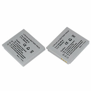 2xCamera Battery for Canon NB-4L NB4L IXUS 80 IS 30 40 50 55 60 65 70 75 100 IS