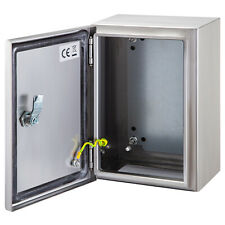 Vevor 12x10x6 Stainless Steel Electrical Box Nema 4x Ip65 Electrical Enclosure