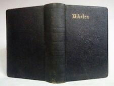 Antique Collectible Danish Bible BIBELEN Den Hellige Grift~Boger~New York 1887