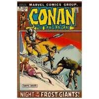 Conan the Barbarian (1970 series) #16 in Fine condition. Marvel comics [*da]