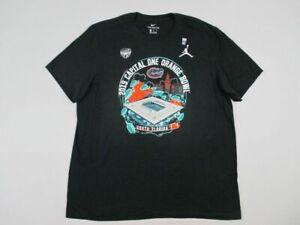 Florida Gators Jordan Short Sleeve Shirt Men's Black Cotton New Multiple Sizes