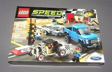 LEGO Speed Champions Ford F-150 Raptor & Ford Model A Hot Rod Set 75875 NEW